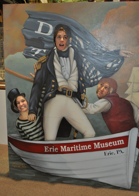 Reception at the Erie Maritime Museum
