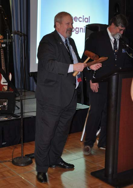 Special Recognition awardee Mike Rauworth