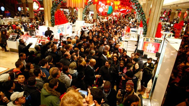 Macy's on 34th Street, NYC on Black Friday. Photo: Forbes