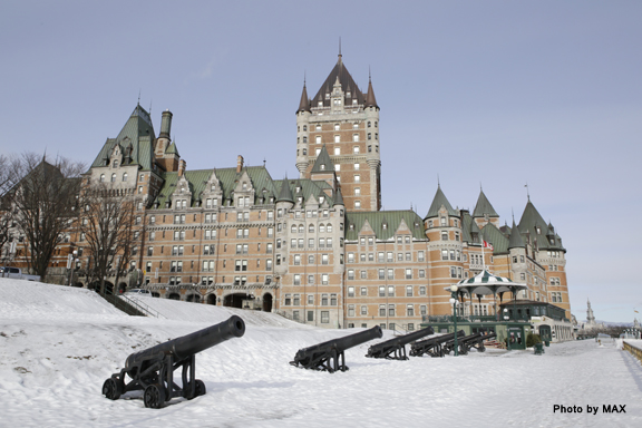 Frontenac exterior cannons_Photo by MAX