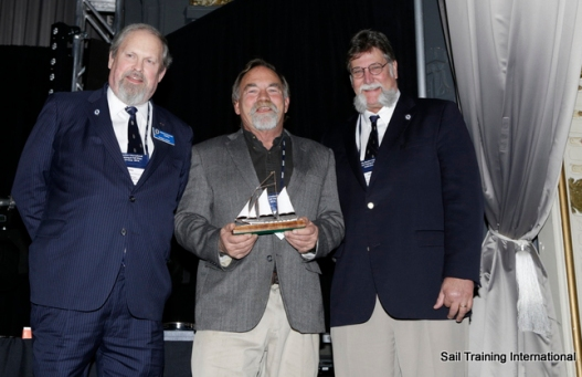 Sail Trainer of the Year Captain John Eginton Photo Credit Sail Training International