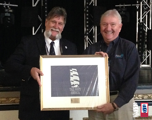 Special Recognition to Gene McKeever Photo Credit Tall Ships America